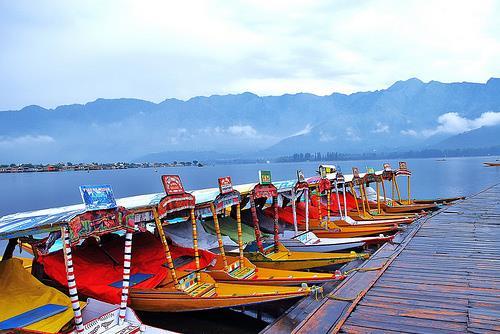 shikara's at the Dal Lake