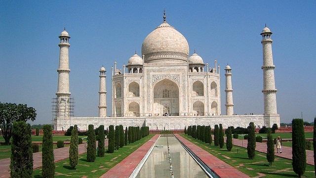 symbol of love the Taj Mahal