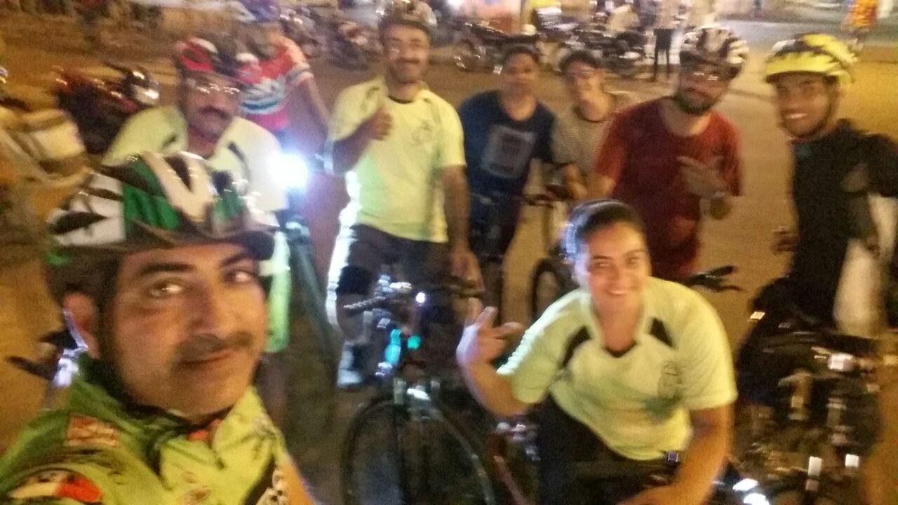 A fun night ride with Rajkot Riders 1