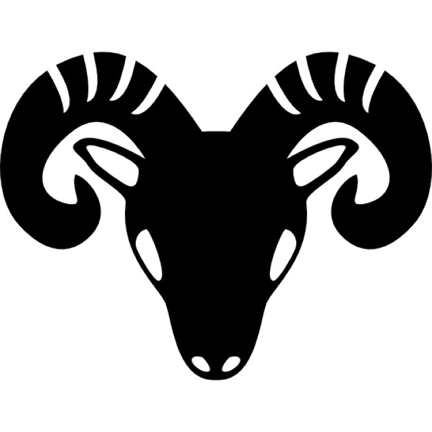 aries-zodiac-symbol-of-frontal-goat-head_318-62797