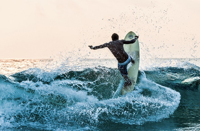 Surfing at Gokarni