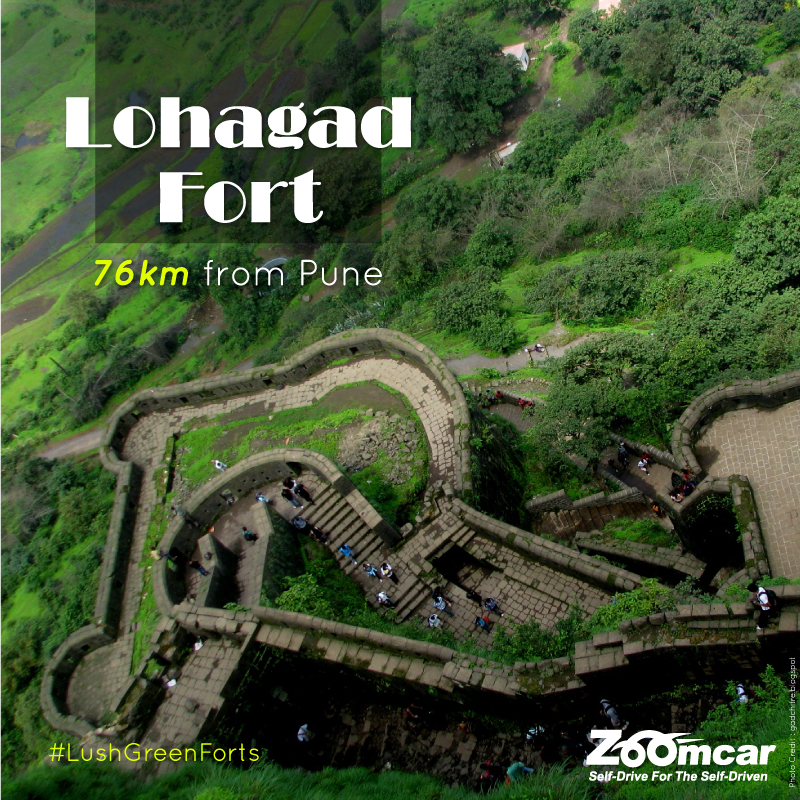 zoomcar.com - Forts Around Pune