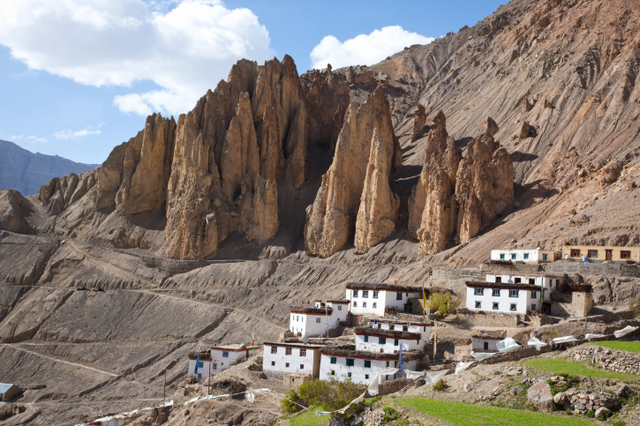 Dhankar, Spiti Valley, Himachal Pradesh, India